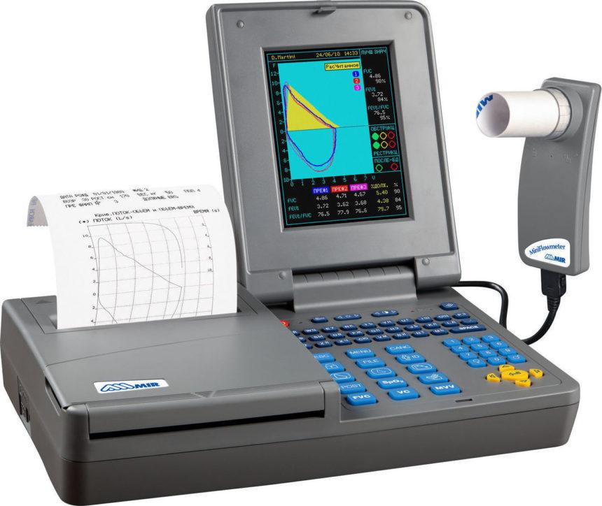 σπιρομέτρηση, σπιρόμετρο, πνευμονολόγος, Μίχα Φωτεινή